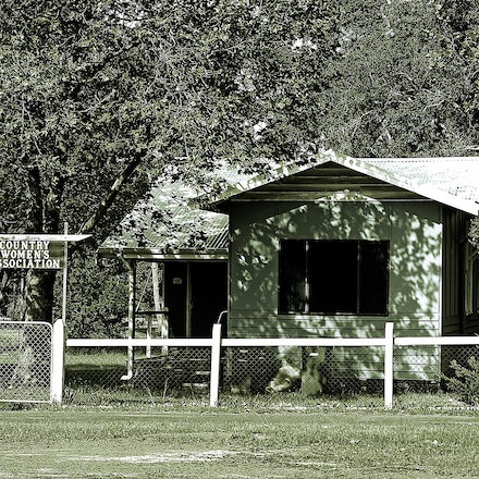 CWA Dwellingup - Country Womens Association building at Dwellingup, Western Australia.