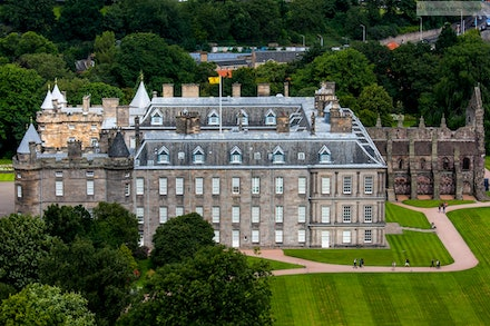 Palace of Holyrood House, Edinburgh - I was fortunate enough to be selected in an ADF contingent to perform at the 2012 Royal Edinburgh Military Tattoo....