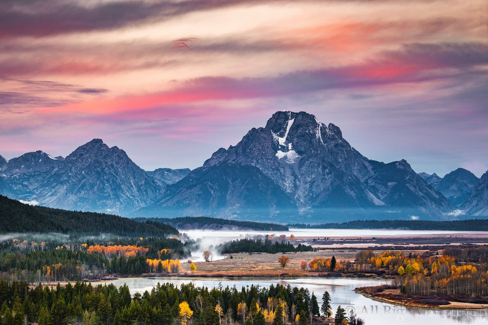 Mount Moran the Magnificent, Teton National Park