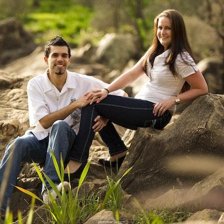 Tanya and Simon Portrait Shoot @ Bells Rapids 14 August 2011 - Atomik Arts Family Portrait Shoots