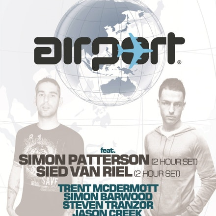 Airport ft. Simon Patterson & Sied Van Riel, Rise, 10 July 2010 - The Airport artisans invite you to join our mile high club and strap yourselves in for...