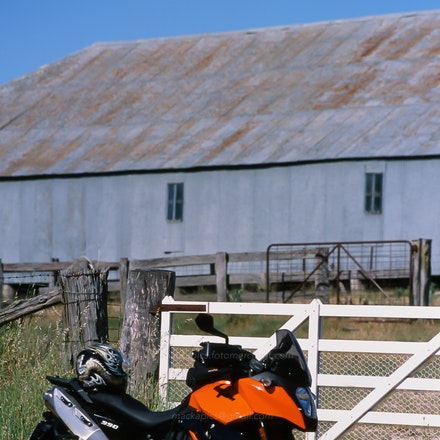 KTM and Shearing Shed