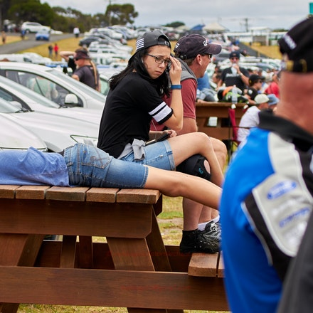 Bored at the races - 2016 Island Classic motorcycle racing