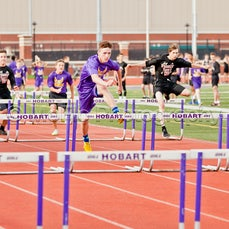 Hobart Middle School vs Fegely Middle School Track