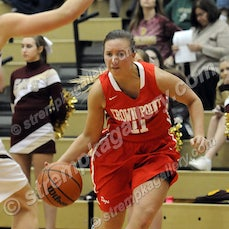 Crown Point vs. Chesterton (Girls) - 1/23/15 - Crown Point was a 49-36 winner over Chesterton on Friday evening (1/23) in Chesterton.  Hannah Albrecht...