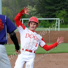 Merrillville vs. Crown Point - 5/17/16 - Brandon Haczynski scattered three hits in Crown Point's 3-1 win over Merrillville on Tuesday evening (5/17) in...