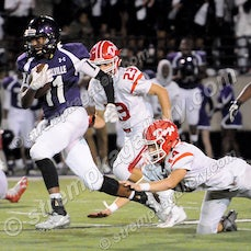 Crown Point vs. Merrillville - 9/2/16 - Merrillville battled from behind to earn a 41-28 win over Crown Point on Friday evening (9/2) in Merrillville....