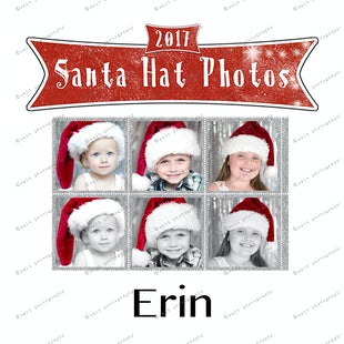 Santa Hat Photos - Erin