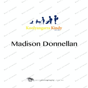 Koolyangarra Kindy -  Madison Donnellan