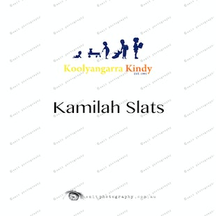Koolyangarra Kindy -  Kamilah Slats