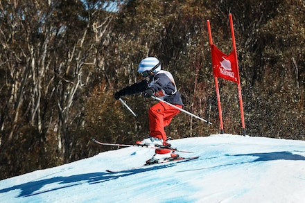 140829_sx_8368 - NSW State Championships-  skier cross race at Thredbo, NSW (Australia) on August 29 2014. Jan Vokaty