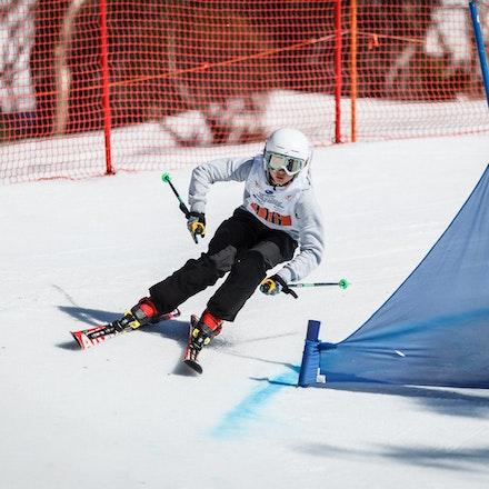 140912_div4_9059 - National Interschools Ski Cross Division 4 at Perisher, NSW (Australia) on September 12 2014. Jan Vokaty