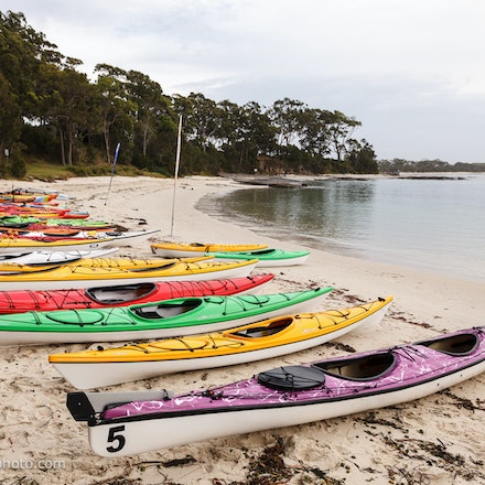 141115_jbk_8787 - Customers testing kayaks and SUP's during the Jervis Bay Kayaks demo day at Huskisson, NSW (Australia) on November 15 2014. Photo: Jan...