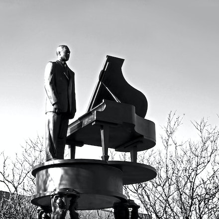 Duke Ellington Statue, Harlem, New York City - Copyright © 2015 Melissa Fiene Photography. All rights reserved. All images created by Melissa Fiene are...
