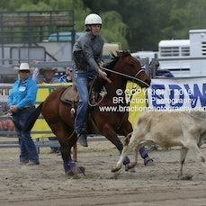 Warwick Rodeo 2015 - Junior Breakaway - Sect 1
