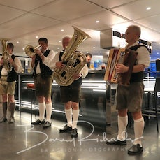Day 7 - Night Entertainment - 24 May 2017 - Entertainment for the evening was the Bavarian Band led by Dr Fritz along with some yodelling & crowd participation...