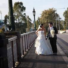 Brooke & Tim - Ceremony: St Dominic's Church Reception: Crown Casino