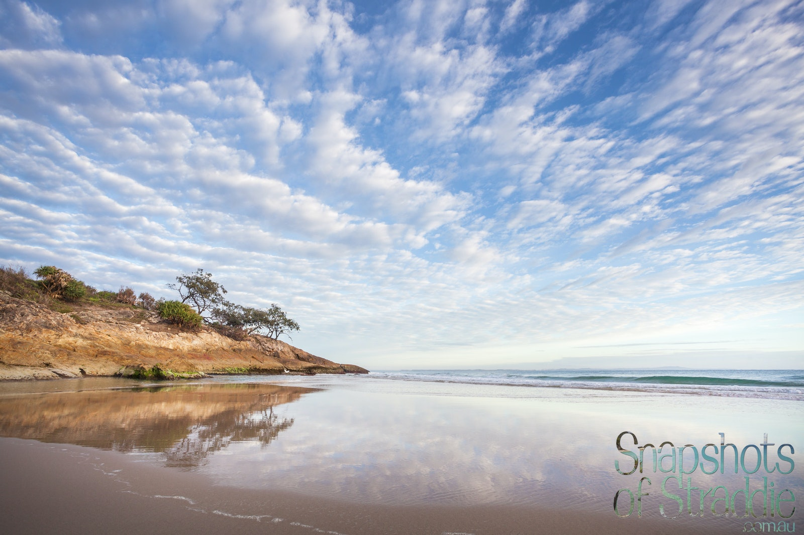 Mirror - Home Beach West - Snapshots of Straddie. Photographs from North Stradbroke Island, Queensland Australia. www.snapshotsofstraddie.com.au. Julie...