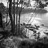 Batemans Bay Beach - Each archival photograph is stamped and signed by Robert and a brief description of how it was taken.