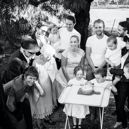 Clancy Family - 50's themed family session.