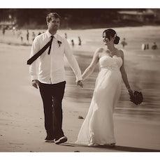 Vest Wedding (2013) - Mr & Mrs Vest Ceremony : Terrigal Beach NSW. Bridal Photos : Terrigal Beach NSW.