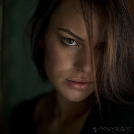 Natascha - Natural low light portrait