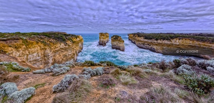 Great Ocean Road landmarks HDR