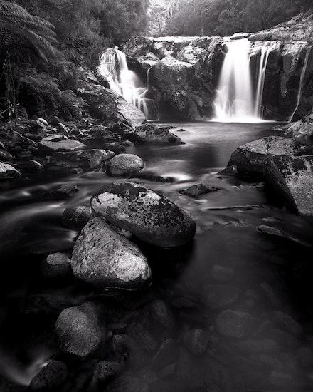 Halls Falls - Pyengana, TAS. 2012.