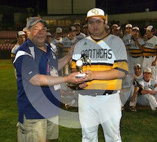 05-15-15 BAS Rivalry Among Friends Trophy Game: Cedar Grove 10, Verona 0 @ Yogi Berra Stadium