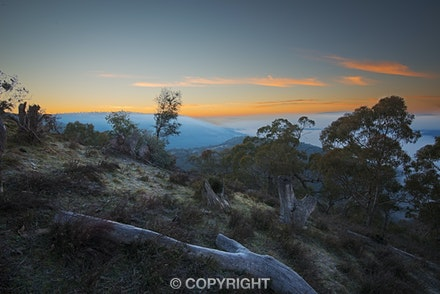 045 Hill End 080814 102-Edit-2 - Sunrise at Hill End, NSW Australia.