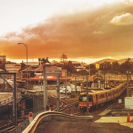 Brisbane City Rail yard