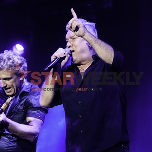 Cold Chisel at Hanging Rock - Cold Chisel played Hanging Rock in November 21 supported by Stonefield, Mark Seymour and The Living End. Pictures by Shawn...
