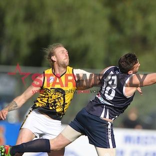 WRFL finals: Hoppers Crossing v Werribee Districts - Photos by Damjan Janevski