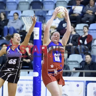 VNL: Melbourne University Lightning v City West Falcons - Pictures by Shawn Smits