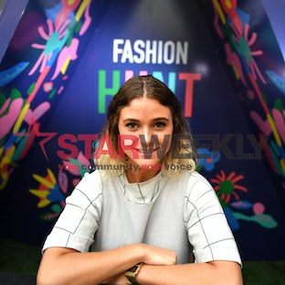 Fashion - Highpoint is staging a Fashion Hunt and Fashion Camp. Pic of artist Esther Olsson, designer of the camp. Photo by Damjan Janevski.