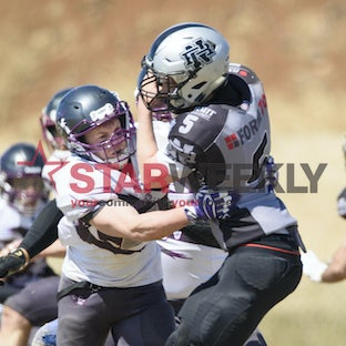 Gridiron Victoria, division 2 grand final, Melton Wolves vs Northern Raiders - Gridiron Victoria, division 2 grand final, Melton Wolves vs Northern Raiders....