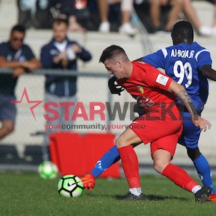 FFV, state league 1 north-west, Western Suburbs vs Hoppers Crossing - FFV, state league 1 north-west, Western Suburbs vs Hoppers Crossing. Pictures Damjan...