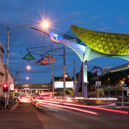 Richmond - Victoria Street at Night - City of Yarra Project - The western entrance to the vibrant and multi-cultural Victoria Street, Richmond / Abbotsford