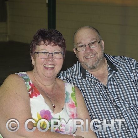 151107_SR24877 - Trish dunn, Michael dunn at the Sportsmans Dinner in Barcaldine, Saturday November 7, 2015.  sr/Photo by Sam Rutherford.