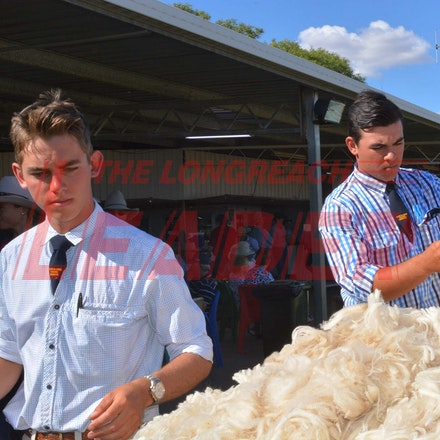 170526_DSC_0824 - Action at the 2017 Isisford Sheep and Wool Show