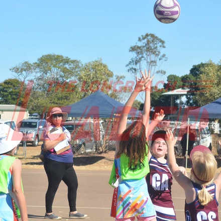 Netball cluster day at Longreach