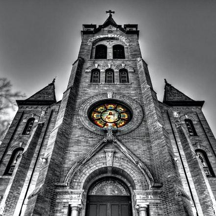 Sacred Heart - Sacred Heart Church in Greeley, Nebraska