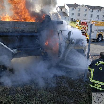 Truck Fire Attack