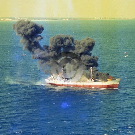 JED CARRIER 5868 - The Jed Carrier was sunk for an artificial reef offshore from Riviera Beach In 1996, it was funded by and now 