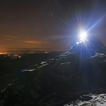 Striding Edge by Torchlight 2016.  Lakeland Photo Walks - www.lakelandphotowalks.co.uk