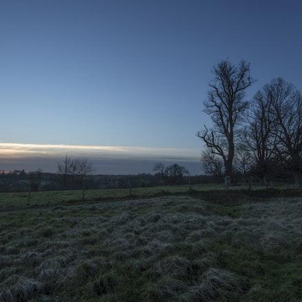 Wimpole dusk