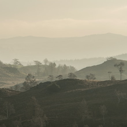 Fells through the haze